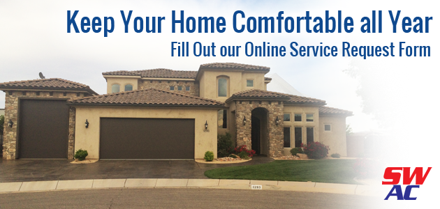 Schedule your Air Conditioning repair with Southwest Air Conditioning, Heating and Energy in St George, UT.